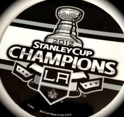 A magnet commemorating their first Stanley Cup championship.