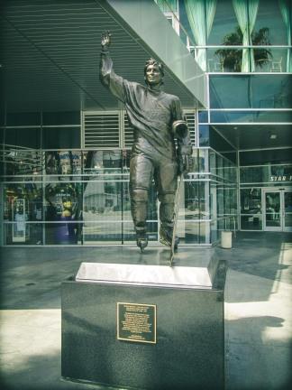 The Great One, Wayne Gretzky.