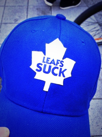 Another proof of the intense rivalry between Montreal & Toronto. The Leafs did get the last laugh on that day though.