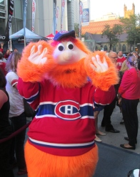 Youppi! was adopted by the Habs when the Expos were moved to Washington to become the Nationals