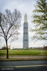 Major restoration efforts are almost completed at the Washington Monument. It was damaged in an earthquake in 2011.