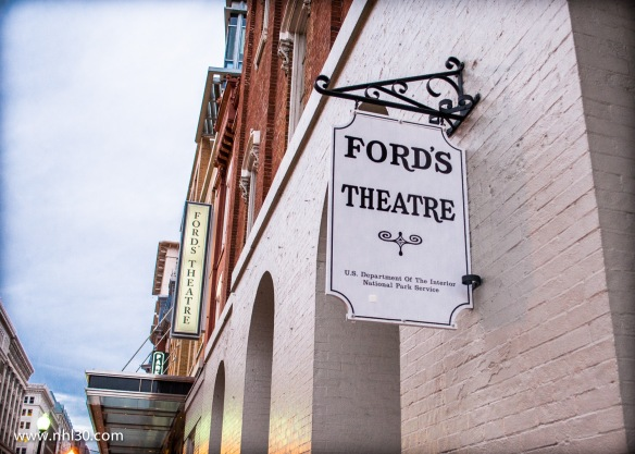 Ford's Theatre, where Abraham Lincol was shot by John Wilkes Booth.