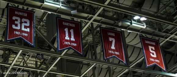 Retired Caps jerseys