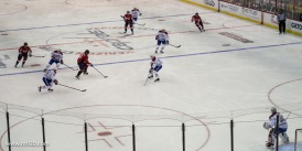 Ovi applying some pressure on the Canadiens defence. What a player!