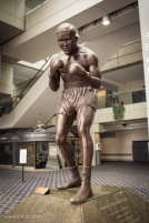 A more traditional tribute to Detroit's Joe Louis