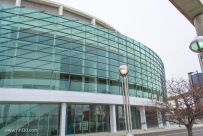 Cobo Center. This part used to be Cobo Arena until it was renovated to become an extension to the Convention center.
