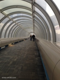 Lots of these tunnels make going from building to building easier.