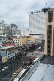 Broad Street from our room