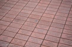 Fan bricks on Championship Plaza