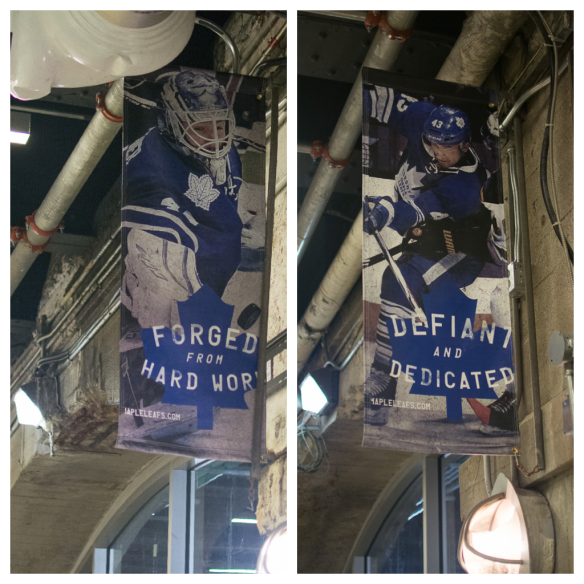 These banners can be seen around the ACC. Not sure how truthful they are ;-)