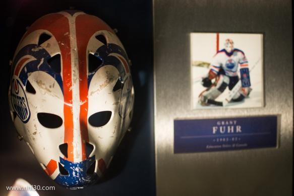 Grant Fuhr's mask