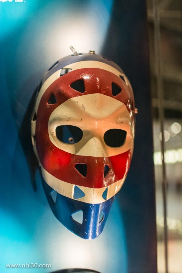 Ken Dryden's mask