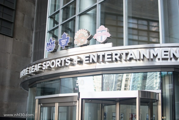 MLSE headquarters are part of the ACC building.