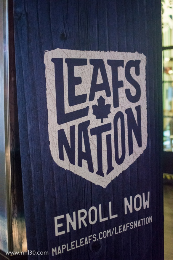You have to be really devoted (or delusional) to enroll into Leafs Nation ;-)