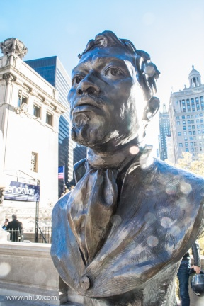 Chicago founder Jean-Baptiste Pointe DuSable.