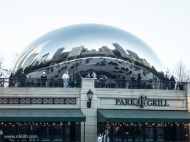 "The ""bean"" (real name Cloud Gate) is a famous tourist attraction. Millenium Park is full of contemporary art like this."