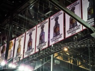 Some history up in the rafters.
