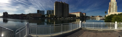 Panorama view of the waterfront